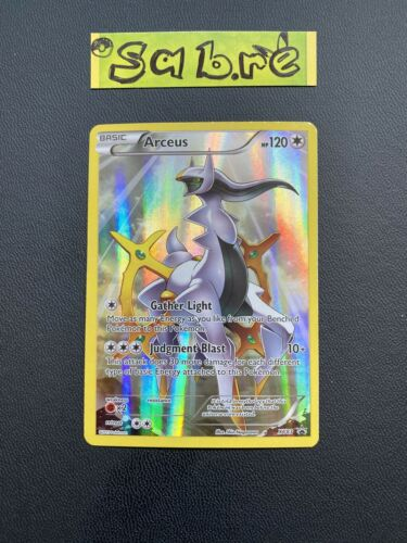 MINT/NM Condition Arceus Black Star Promo XY83 Pokemon Card