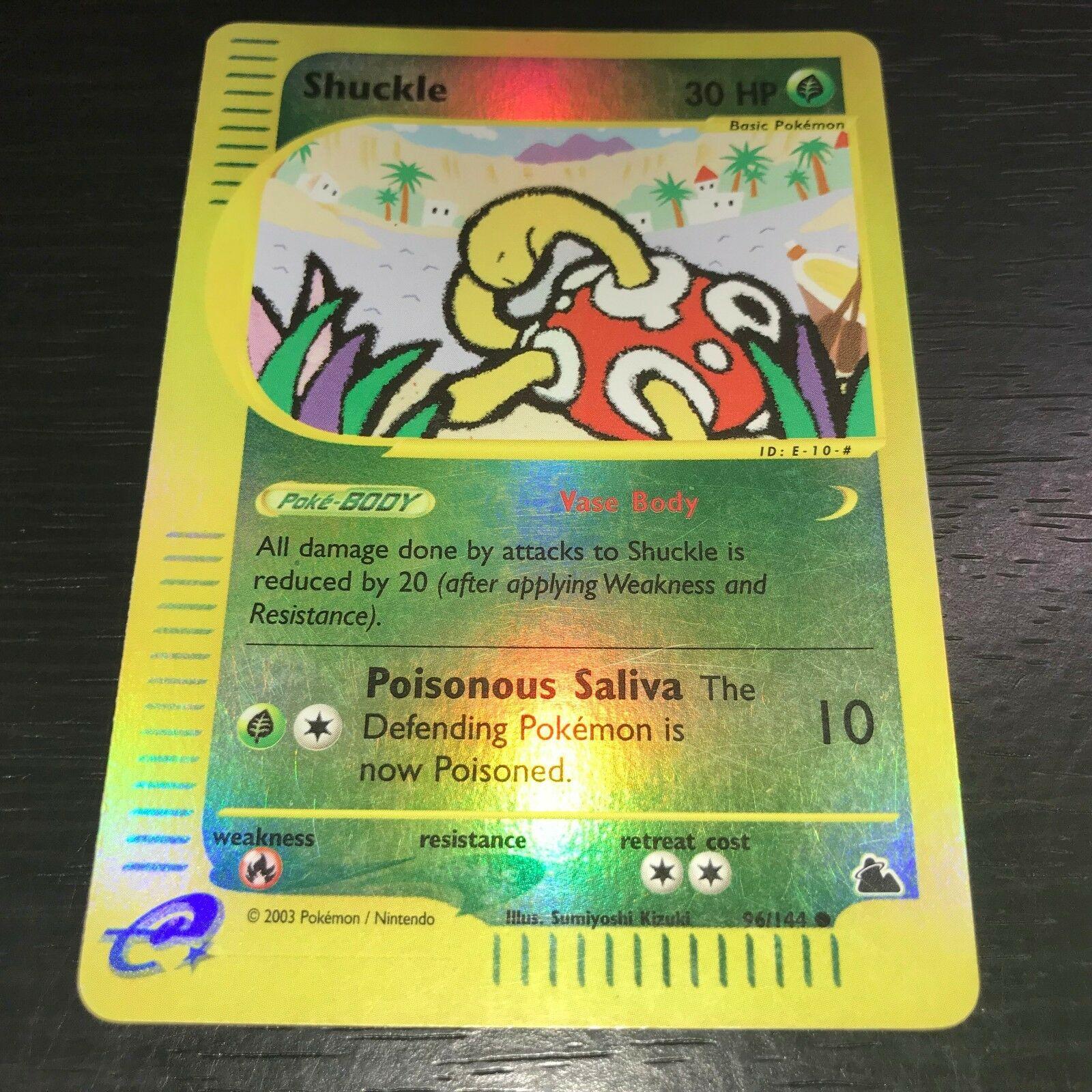 96//144 Shuckle Common NM Skyridge Pokemon