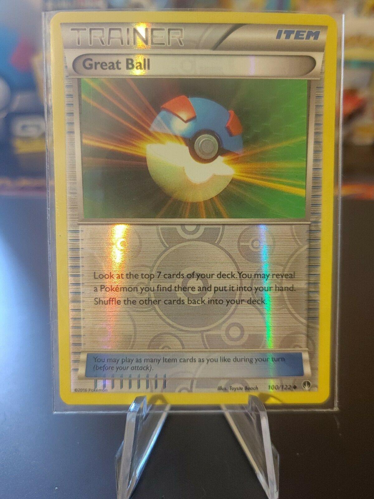 Great Ball 25//30 TK2 Mint Pokemon Card