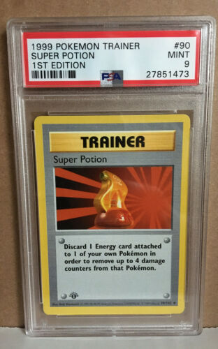 1st Edition Base Set Trainer Super Potion 90//102 Pokemon