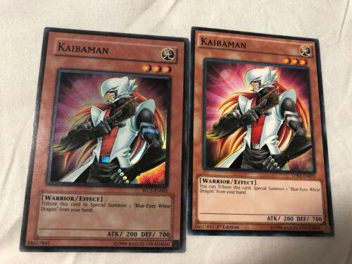 Kaibaman LDK2 x3 Playset NEW Common Unlimited Yugioh