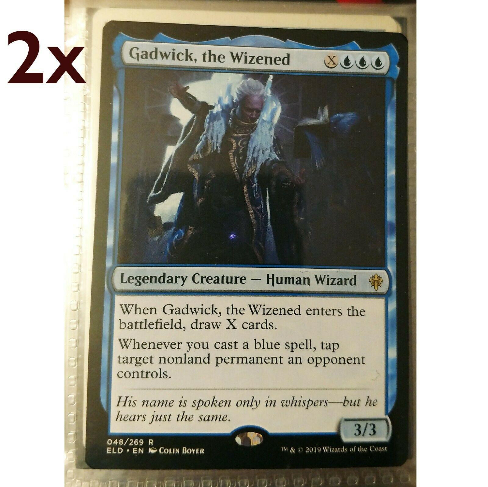 the Wizened 048//269 the Gathering MTG Throne of Eldraine Gadwick Magic
