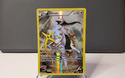 Pokemon Card - Full Art Arceus Promo Holo XY83 Ultra Rare EX Black Star M