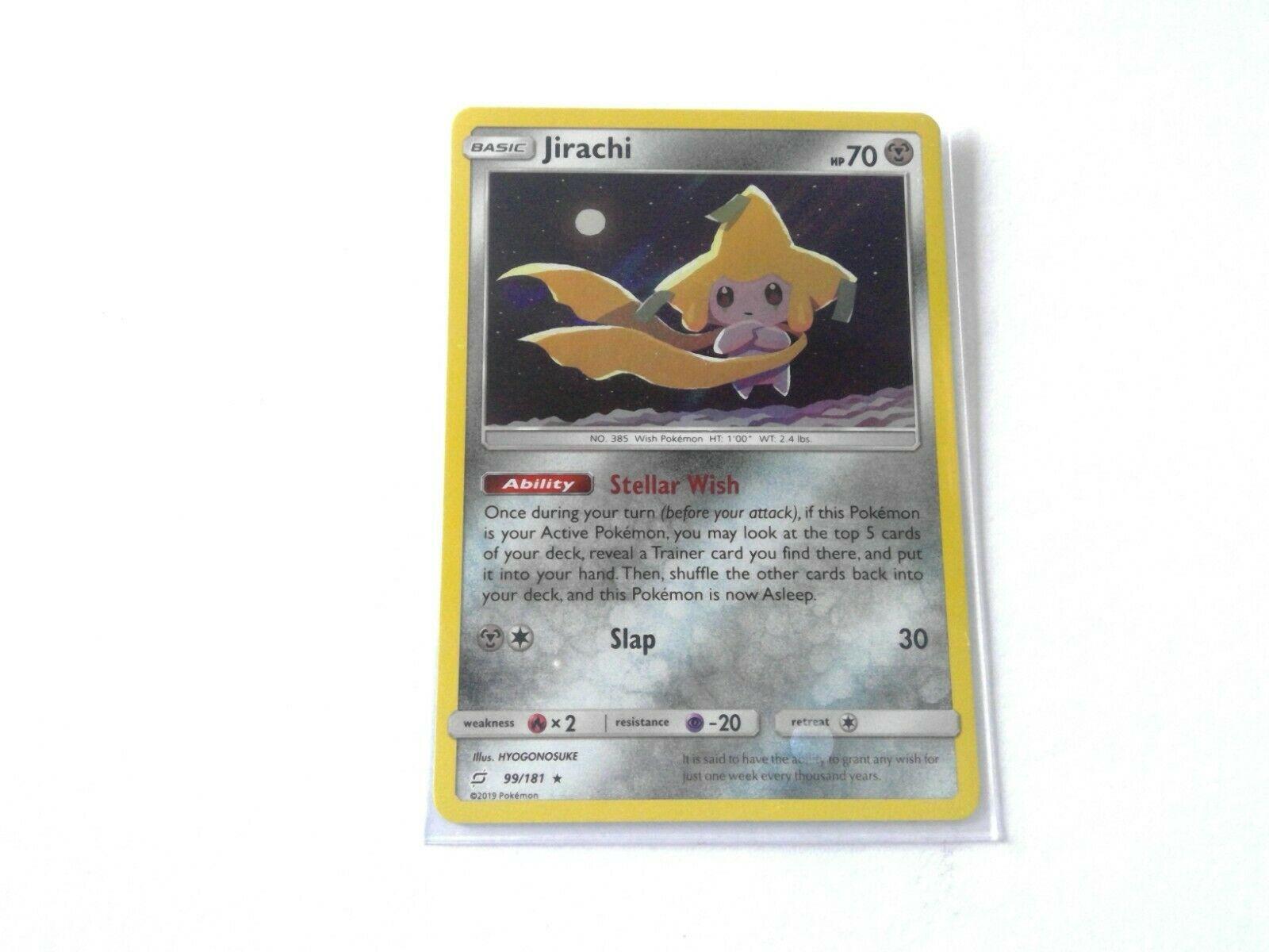 Jirachi 99//181 Non-Holo Rare Pokemon Team Up