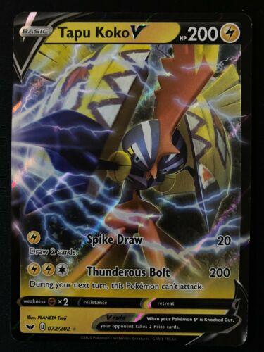 006-024-SA-Y Tapu Koko Japanese Pokemon Card