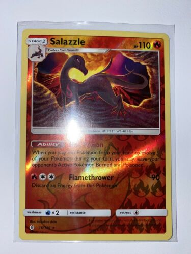 Rare Rev Holo Mint NM Salazzle 16//145 Pokemon TCG Card
