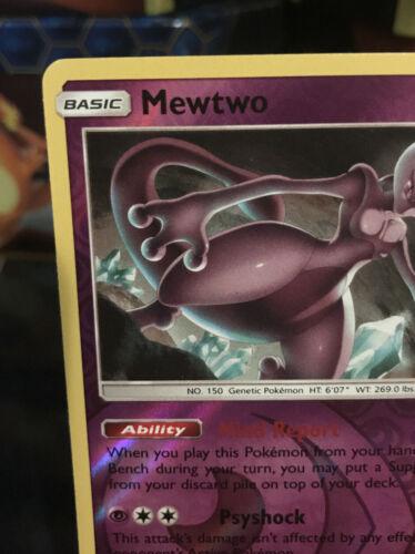 Mewtwo 75/214 NM Near Mint Unbroken Bonds Reverse Rare Holo Pokemon Card - Image 2
