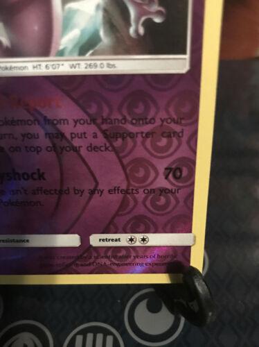 Mewtwo 75/214 NM Near Mint Unbroken Bonds Reverse Rare Holo Pokemon Card - Image 4