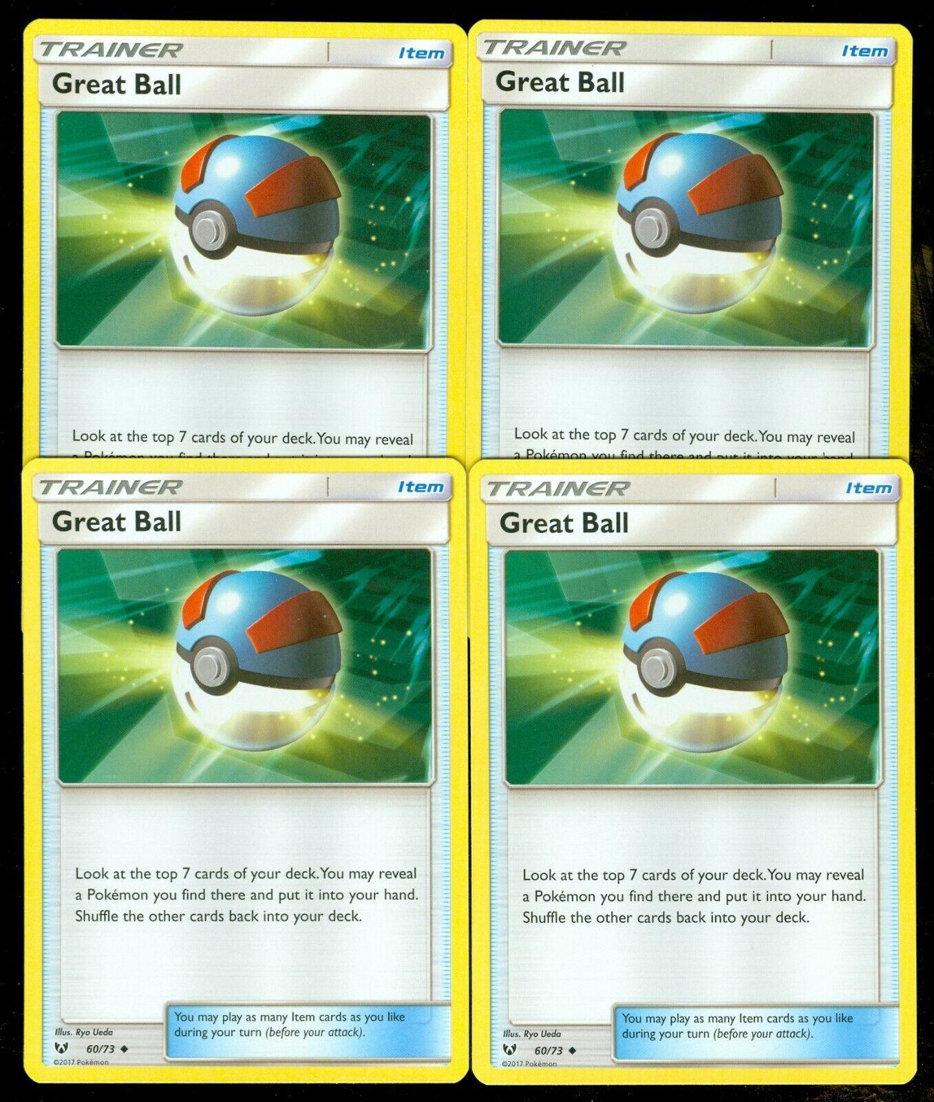 Pokemon Shining Legends Great Ball No 60//73