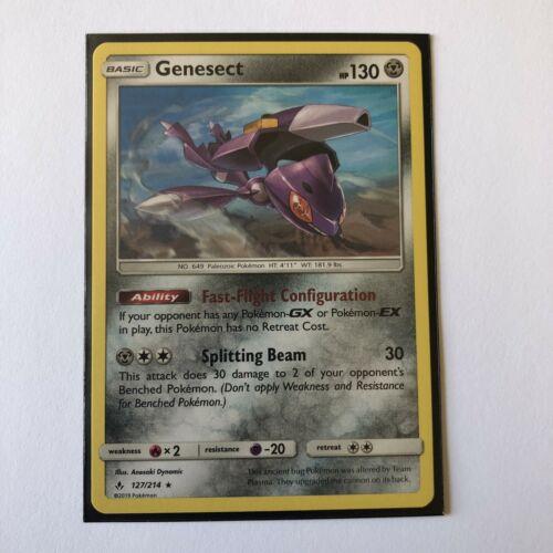Pokemon TCG Genesect 127/214 Non Holo Rare SM Unbroken Bonds