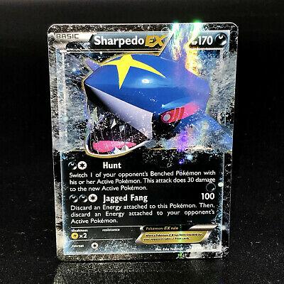 Sharpedo EX XY Primal Clash 91/160 Half-Art Holo Rare Pokemon Card