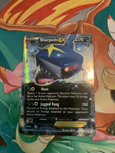Sharpedo EX 91/160 Primal Clash Ultra Rare Near Mint