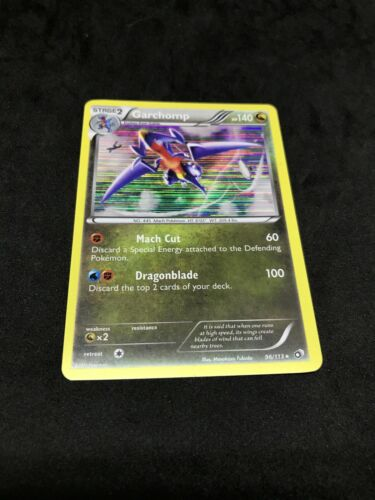 Garchomp 96//113 B/&W Legendary Treasures HOLO PERFECT MINT Pokemon
