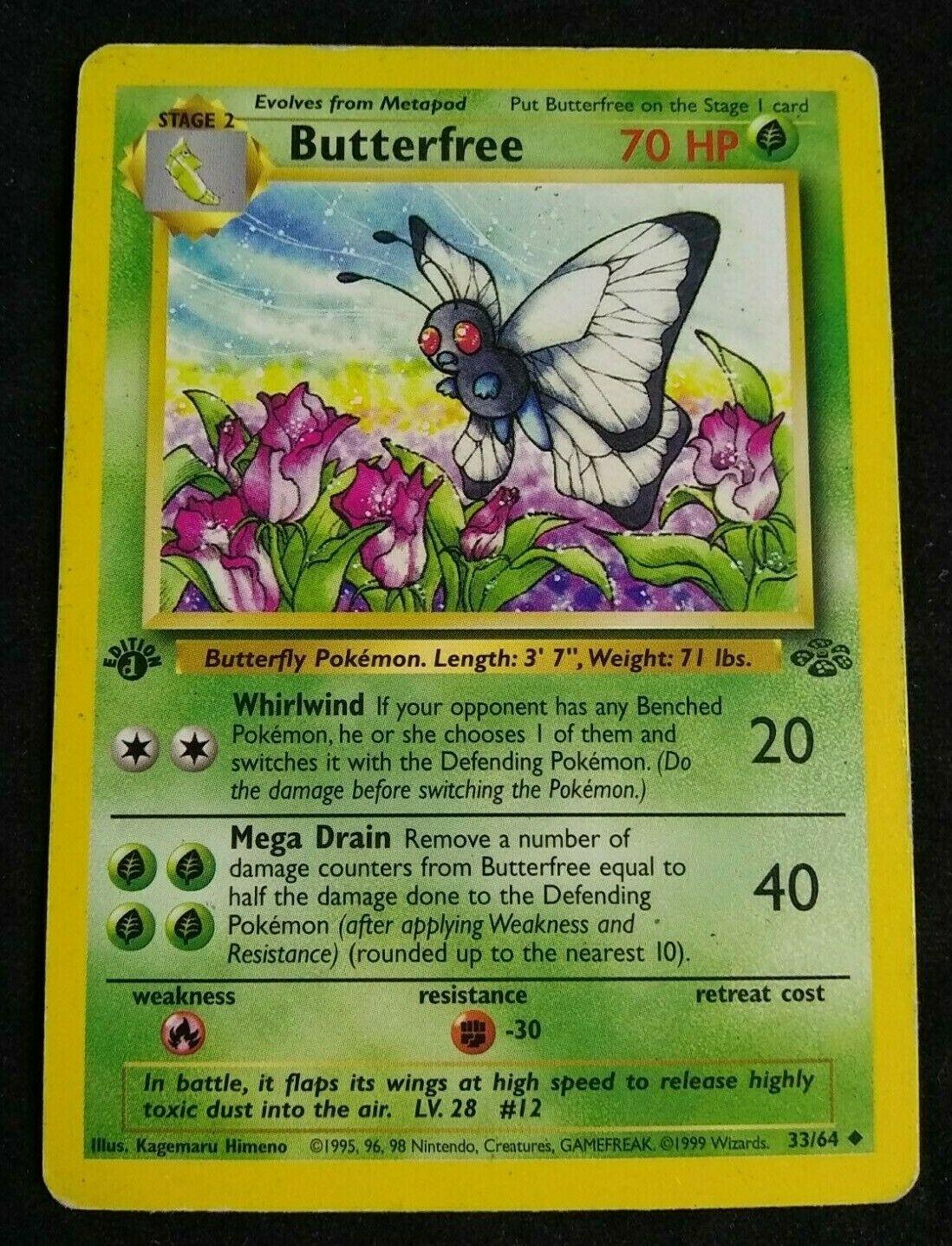 No Persian 42//64 Jungle Wizards Card Details about  /MISPRINT TIE-DYE POKEMON LABEL ERROR