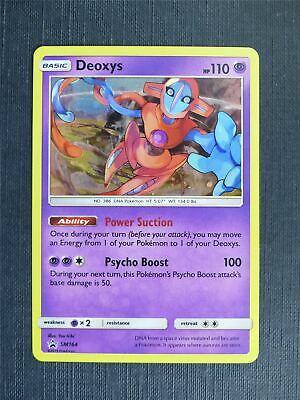 Deoxys SM164 Holo Promo Pokemon Card Near Mint Condition