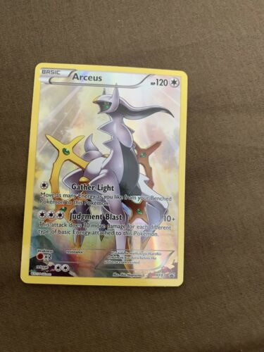 1x XY83 Arceus HOLO RARE Black Star Promo Card Mint Never Played New Card!