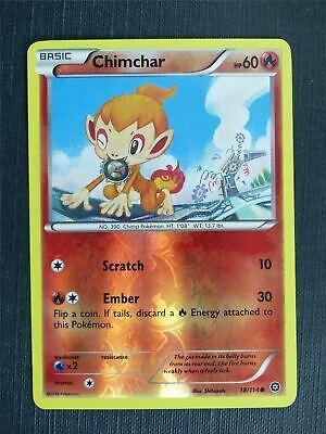 18//114 4x Chimchar Common XY Steam Siege Pokemon Near Mint