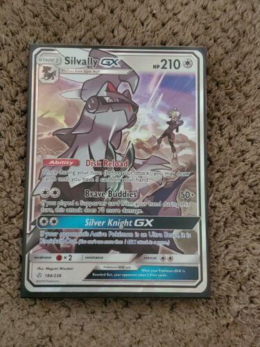 Pokemon Silvally GX 184//236 Holo Ultra Rare Cosmic Eclipse Near Mint