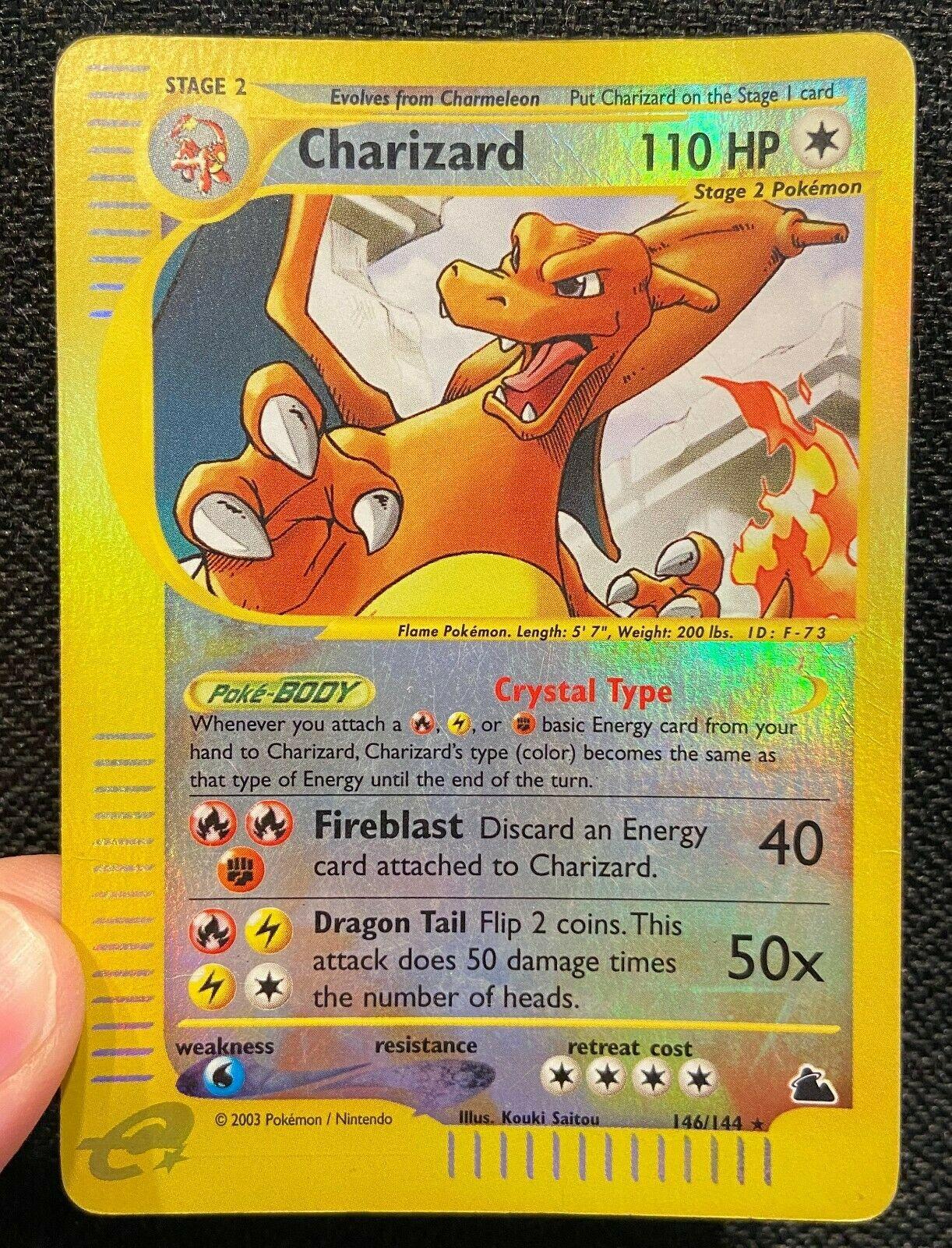 PROXY Skyridge Charizard 146144 Pokemon Card