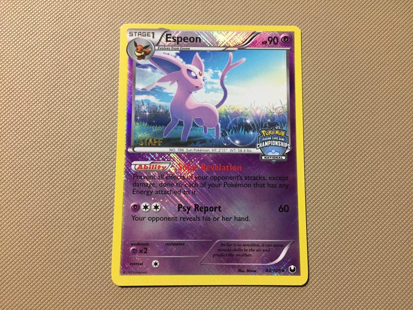 Espeon 48//108 Dark Explorers Pokemon Card Exc Cond