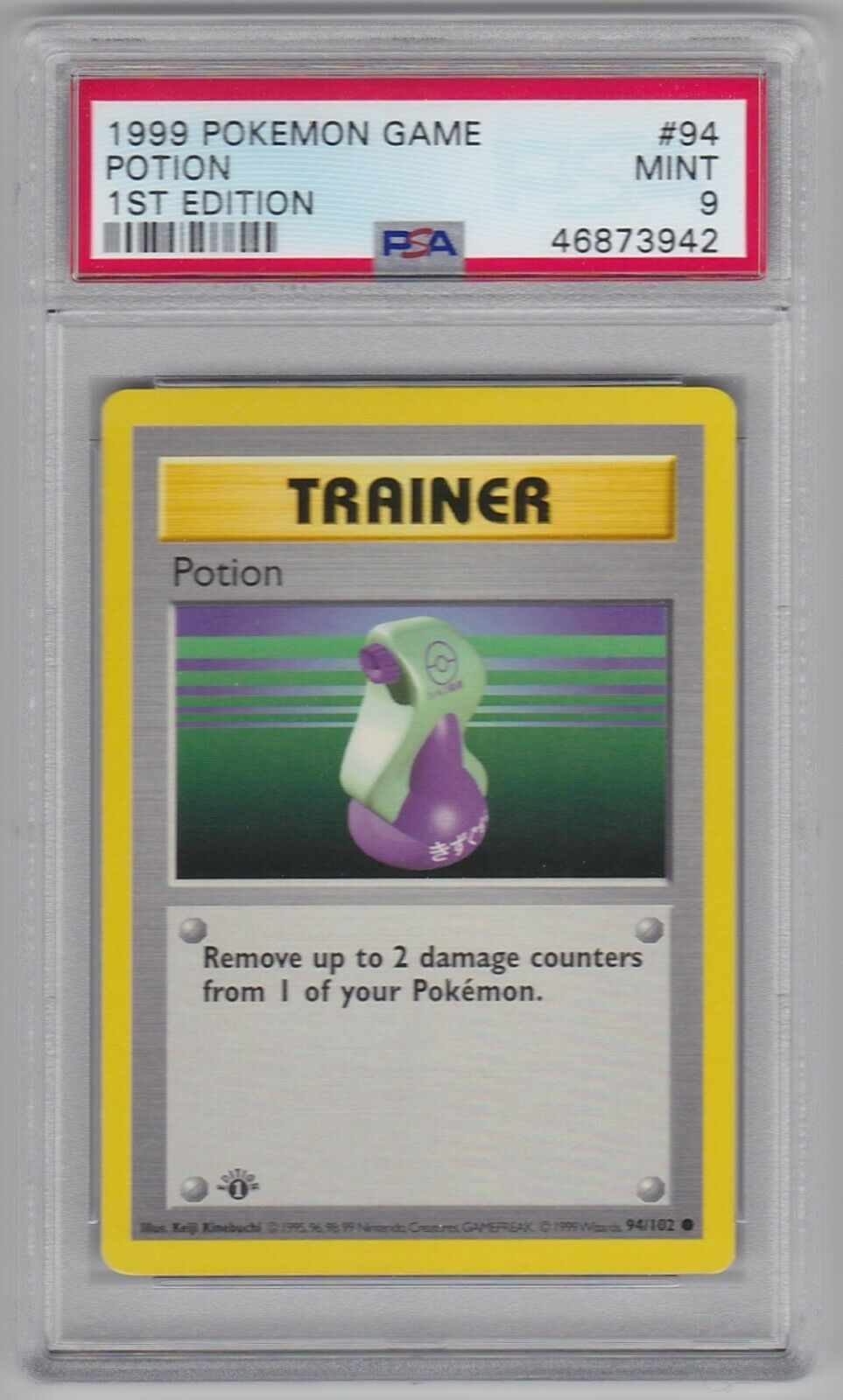 X4 Potion 94//102 Base Set Common Played Pokemon DNA GAMES