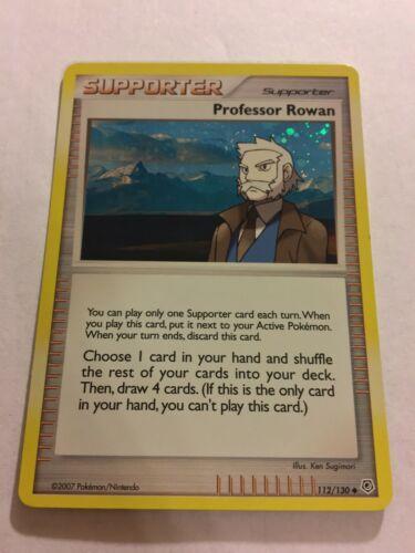 Pokemon Professor Program Promo Stamped Professor Rowan 2007-2008 NM