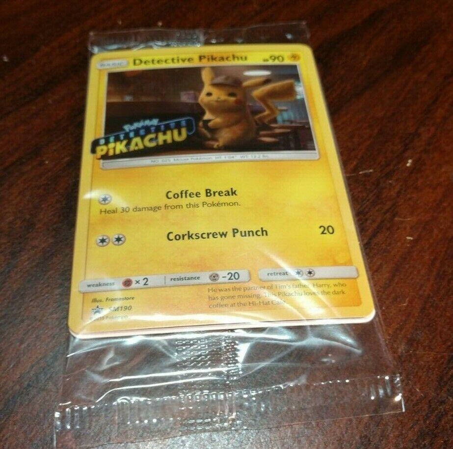 8x SPANISH Detective Pikachu Movie 2019 Promo 2 Card Packs SM190 Pokemon Sealed