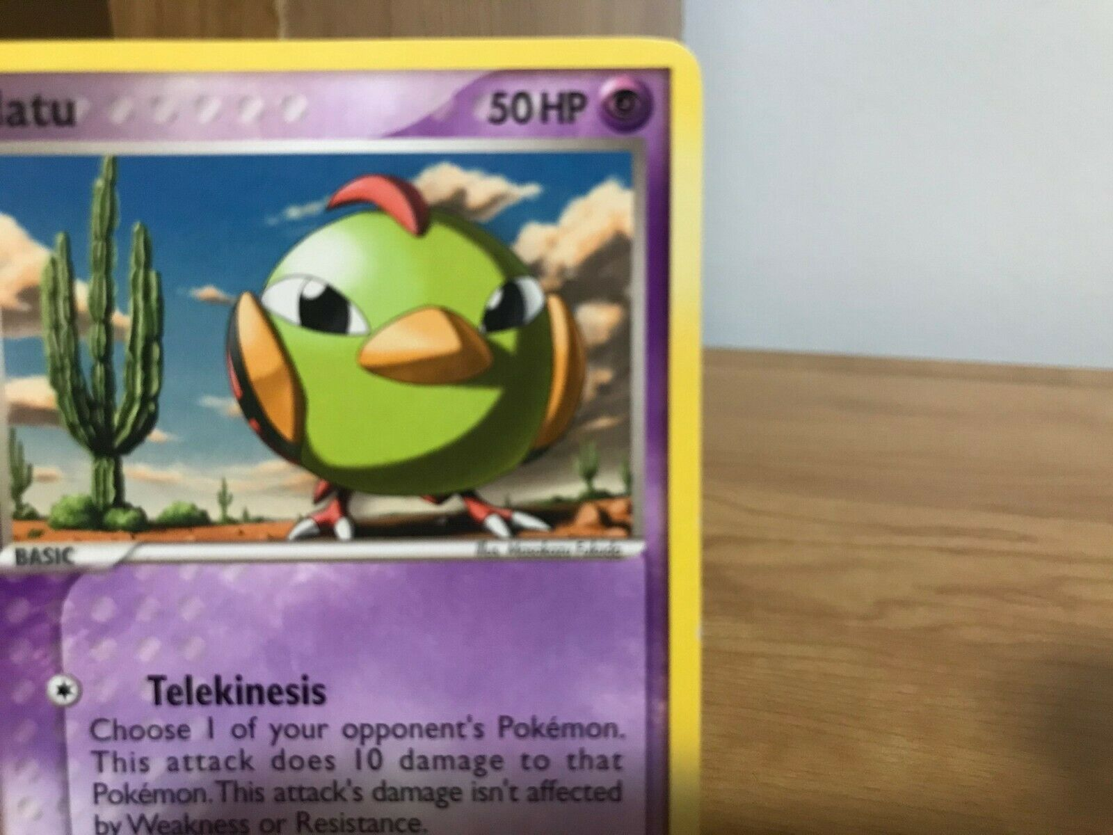 Pokemon Card Natu 63/115 EX Unseen Forces in Good Condition! - Image 5