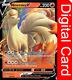 Ninetales V 026/192 Rebel Clash Pokemon TCG Online Digital Card in GAME + GIFT