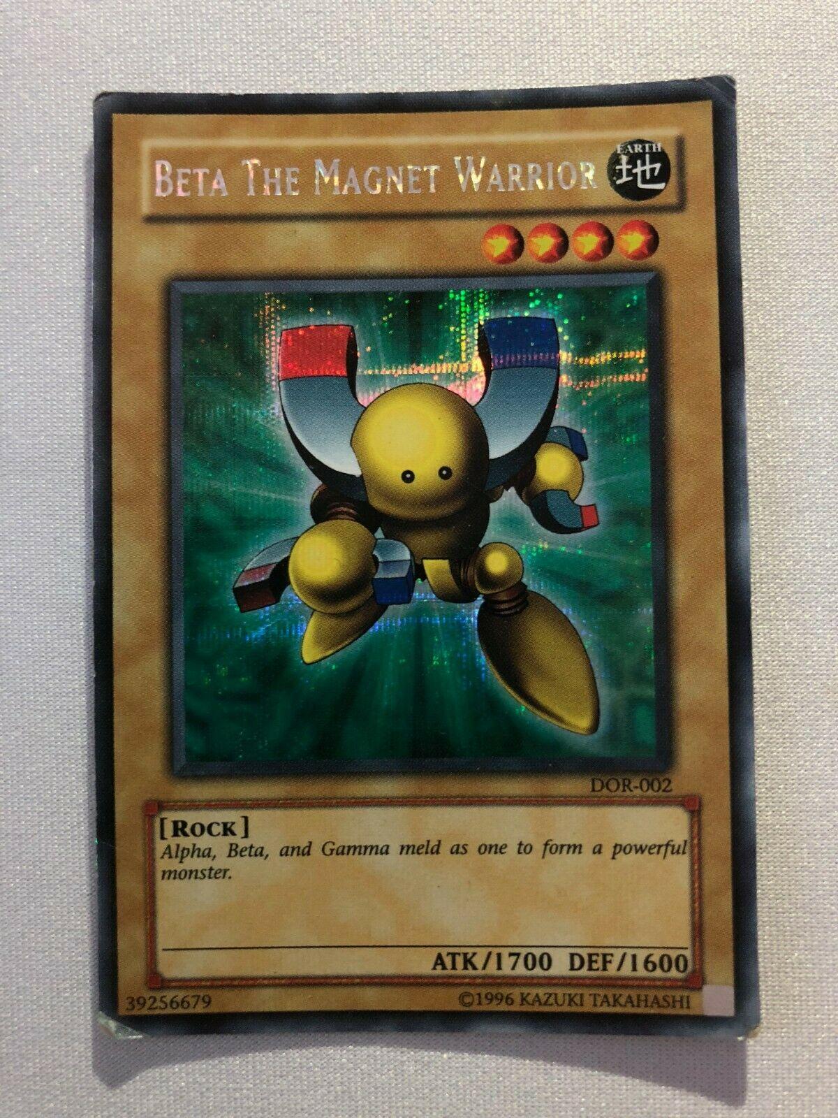 DOR-E002 Beta The Magnet Warrior Secret Rare