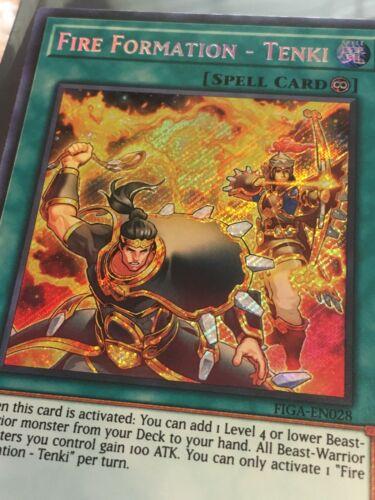 Common Tenki OP12-EN025 Unlimited Edition NM x3 YuGiOh Fire Formation