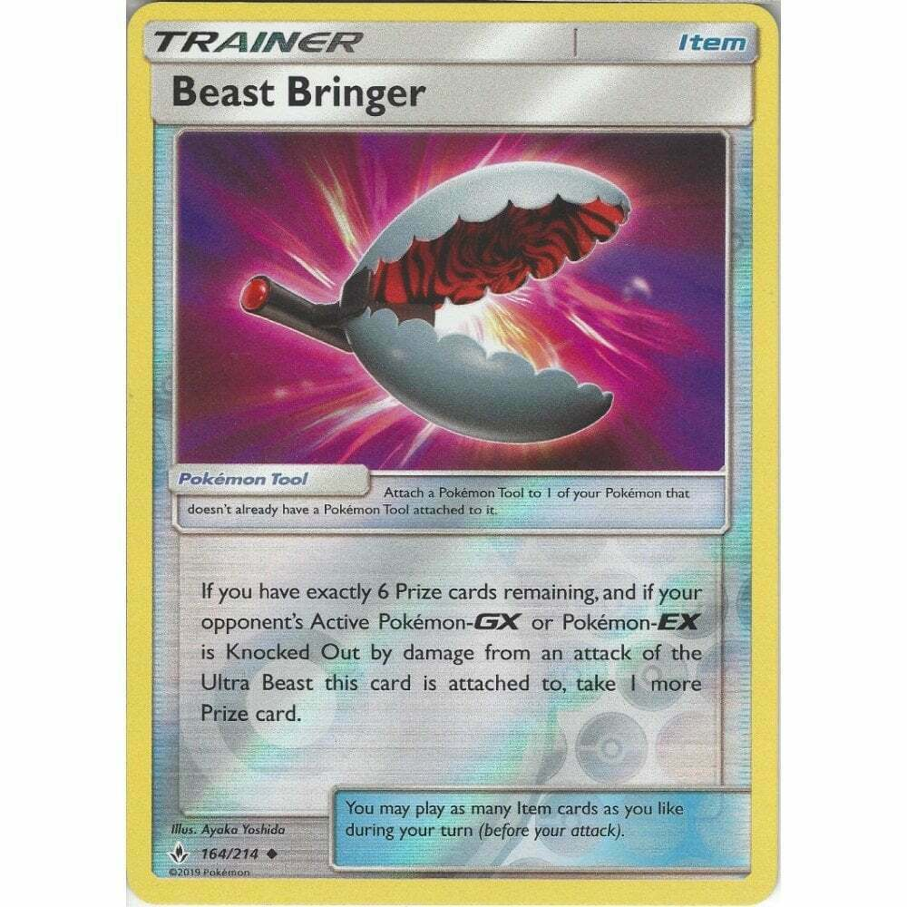 Pokemon Unbroken Bonds Beast Bringer Reverse Holo 164/214
