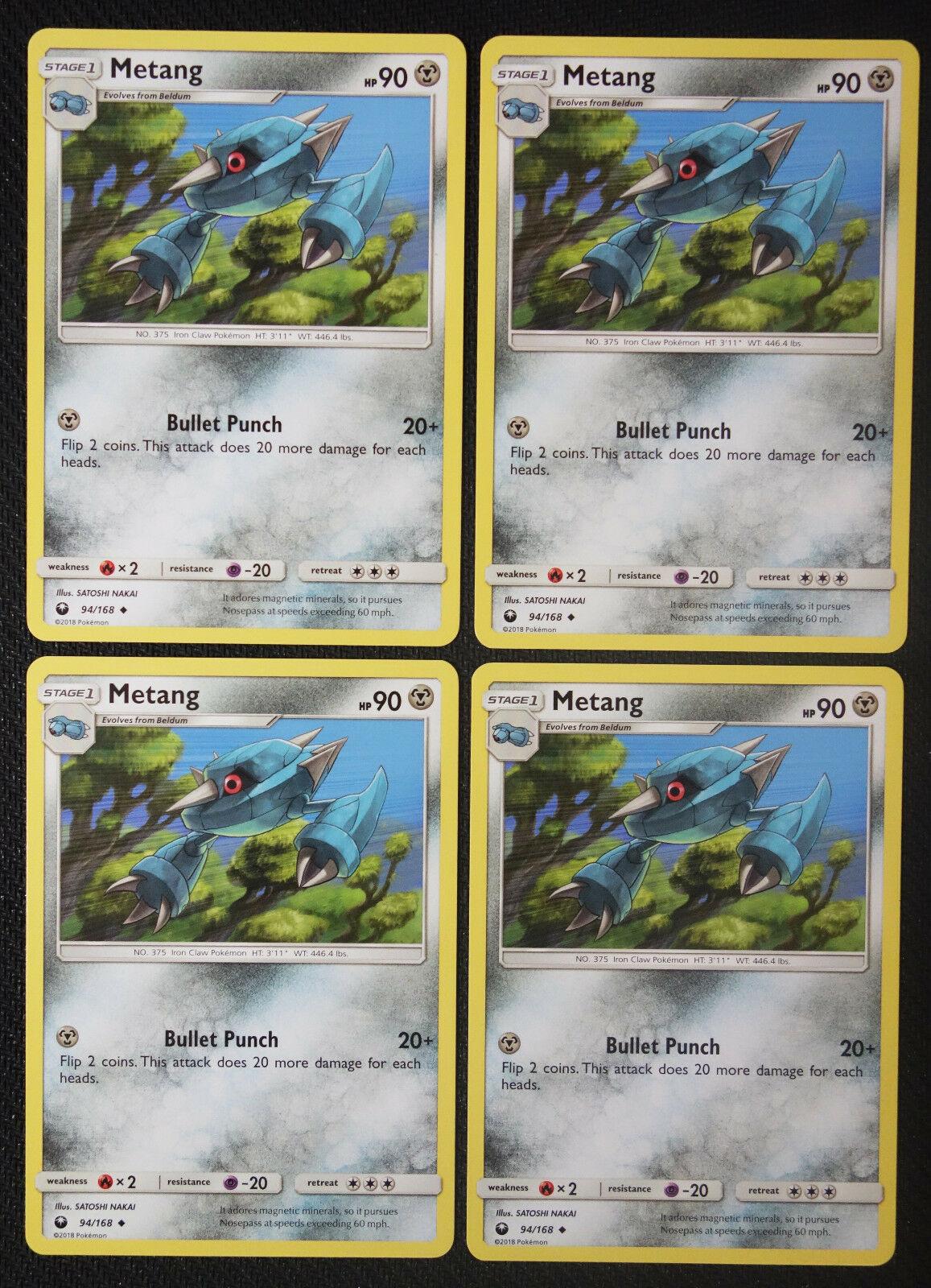 Pokemon 94//168 Metang Sturm am Firmament
