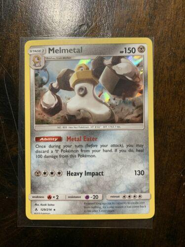Pokemon TCG : Melmetal 129/214 Holo Unbroken Bonds