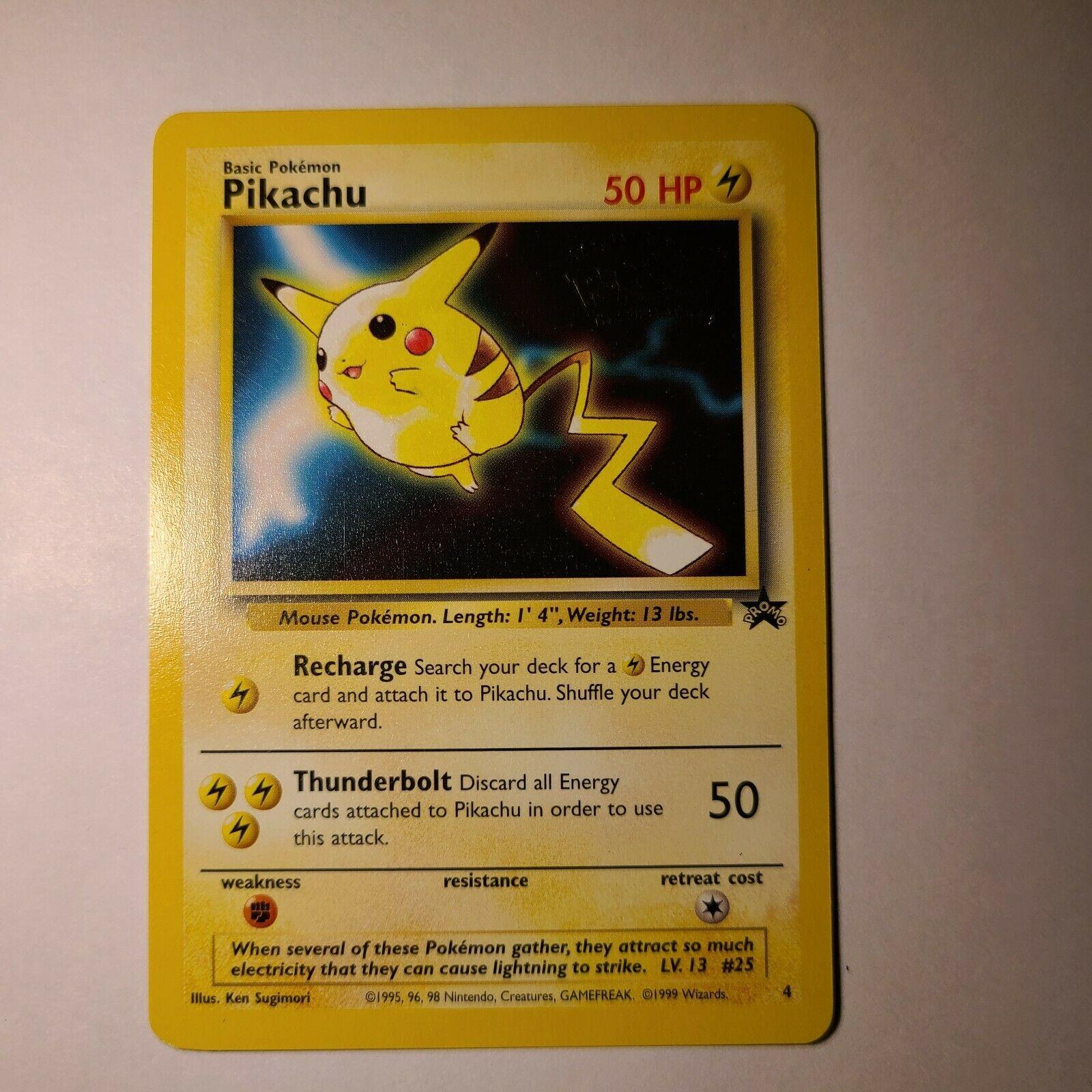 Small Size NEW Pikachu Wizards WOTC 1999-2000 Pokemon TCG Coin Gold UK STOCK