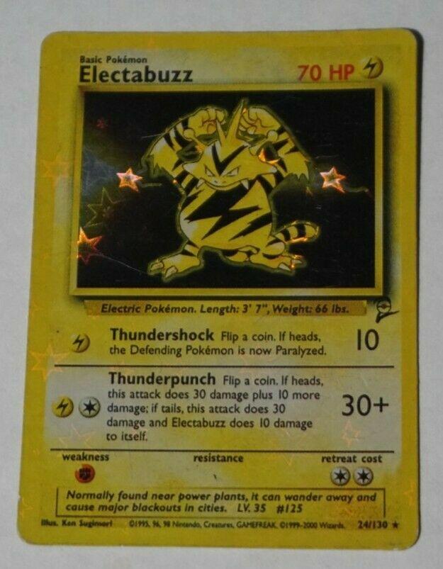 electabuzz 24 130 base set 2 see what it s worth mavin price guide electabuzz 24 130 base set 2