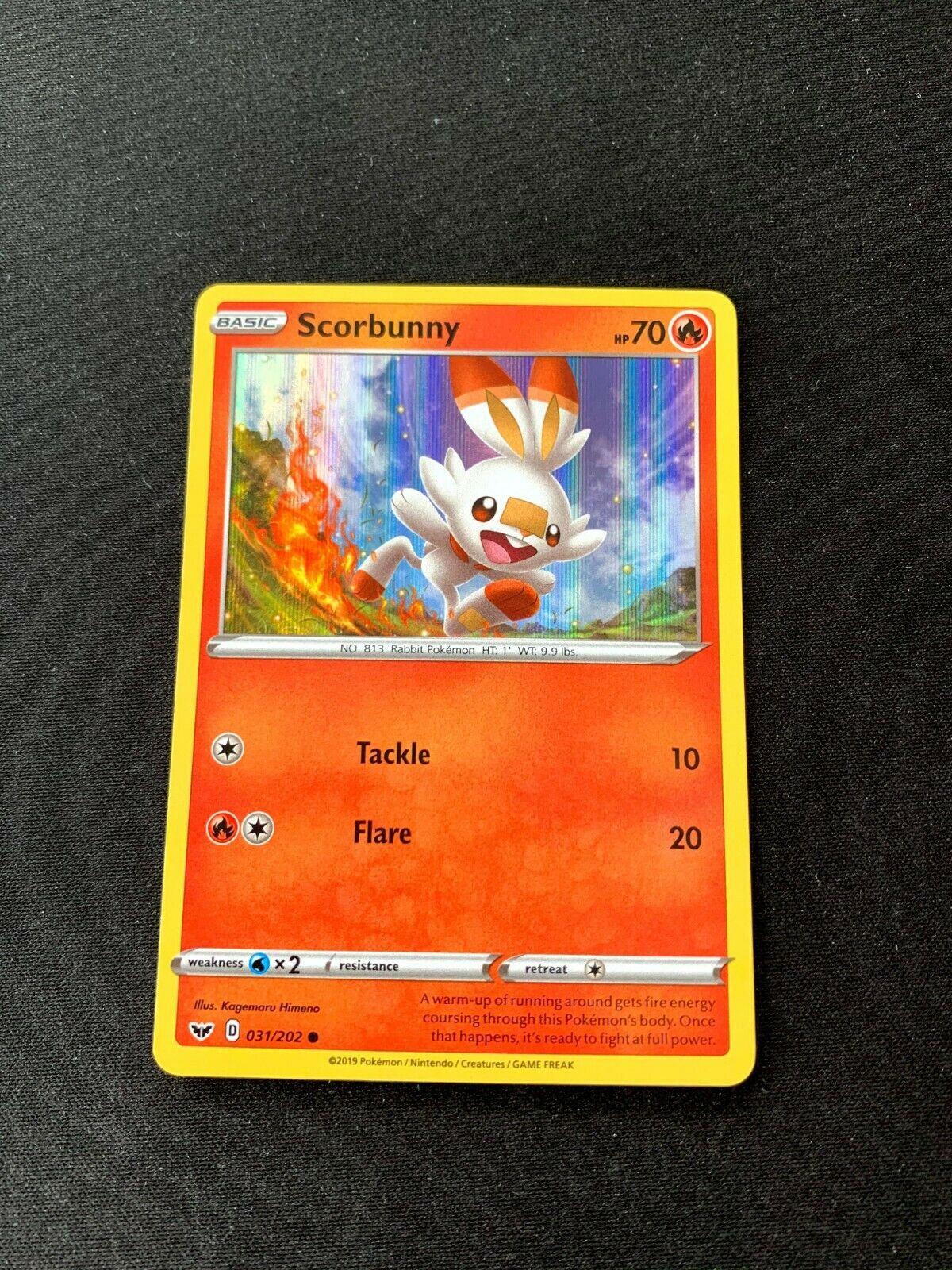 Pokemon card flambino 031//202 reverse sword and shield 1 eb01 fr new